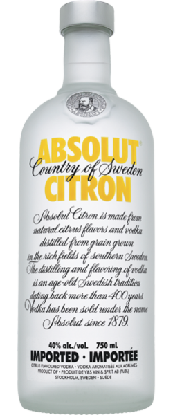 Image for ABSOLUT CITRON